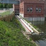 Przepławka dla ryb Przechowo