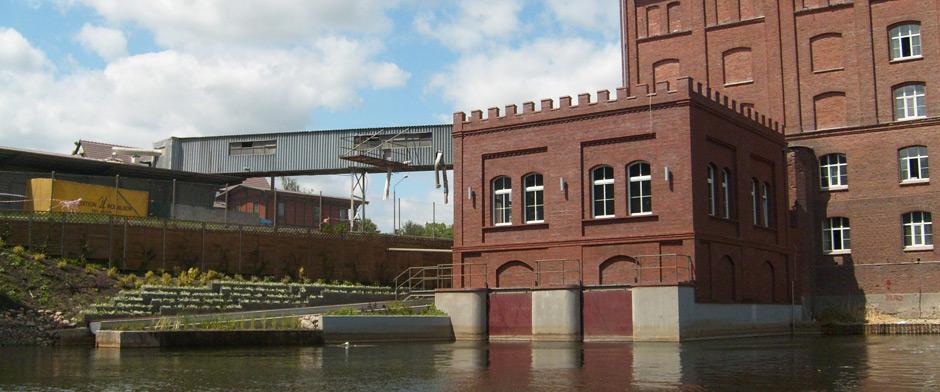 Przechowo: nowa elektrownia wodna wykorzystująca istniejący zabytkowy jaz, wraz z przepławką dla ryb